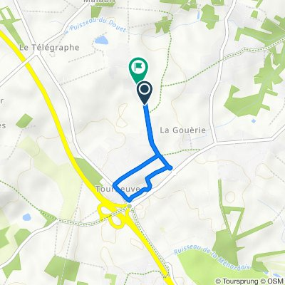 De Route du Verger 40, Treillières à Route du Verger 50, Treillières