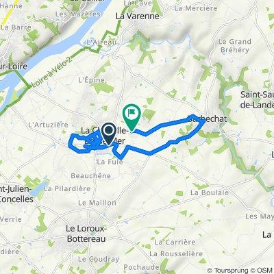 De 15 Boulevard Pasteur, La Chapelle-Basse-Mer à 4 Rue des Magnolias, La Chapelle-Basse-Mer