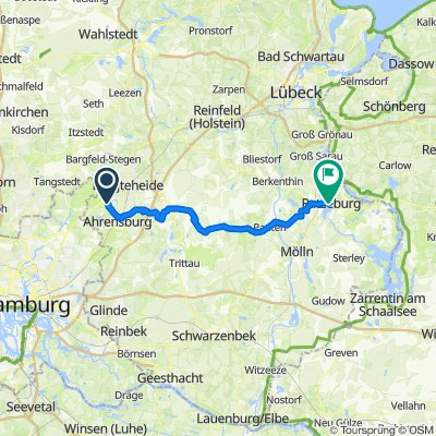 Bramkampredder 9-7, Ammersbek nach Herrenstraße 13, Ratzeburg
