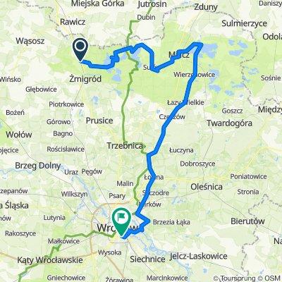 Garbce - Milicz - Wrocław