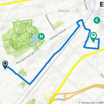 1314 E Saint Georges Ave, Linden to 417 Grier Ave, Elizabeth