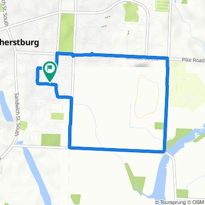 Hawthorn Crescent 280, Amherstburg to Hawthorn Crescent 276, Amherstburg