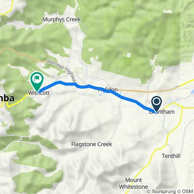 Gatton to Toowoomba Connection Rd, (Perfect for E-Bike)