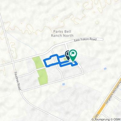 7307–7399 Cross B Rd, Odessa to 6945 Aaron Parker Rd, Odessa