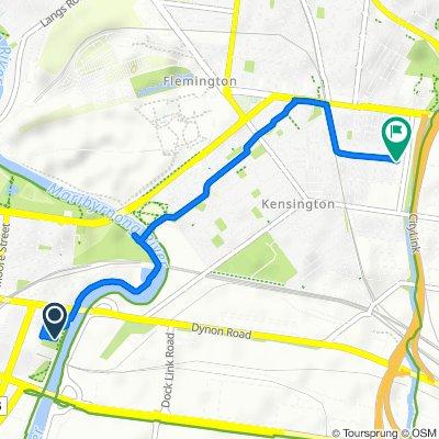 1–13 Swallow Lane, Footscray to 70-74 Smith Street, Kensington