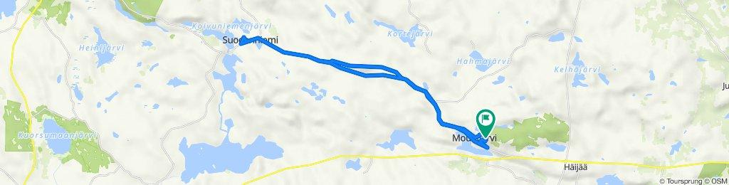 Lehmuspolku 11, Mouhijärvi to Lehmuspolku 11, Mouhijärvi