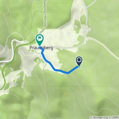 Route nach Frauenberg 27, Haidmühle