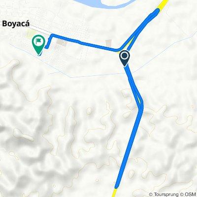 De Puerto Libre-Puerto Boyaca, Puerto Boyacá a Carrera 11 23-70, Puerto Boyacá