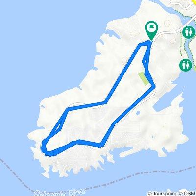 1341–1367 N McCulloch Blvd, Lake Havasu City to 1341–1367 N McCulloch Blvd, Lake Havasu City