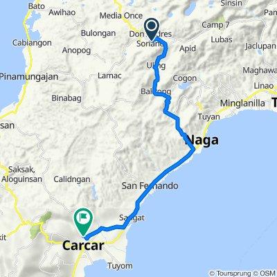 Naga - Uling Road, City of Naga to liburon, Carcar City