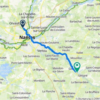 De 3 Rue Alberto Giacometti, Orvault à 3 Grand'Rue de la Trinité, Clisson