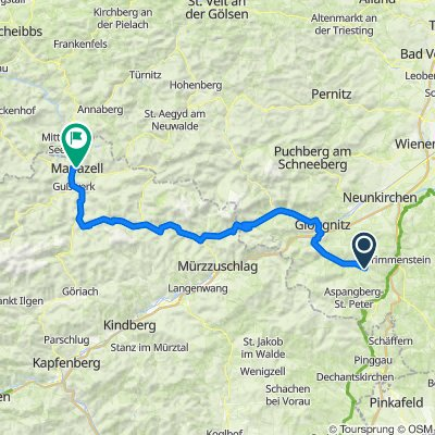 Feistritz am Wechsel 148, Feistritz am Wechsel nach Pater-Hermann-Geist-Platz, Mariazell