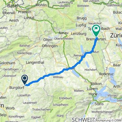 Luegstrasse 535, Kaltacker nach Badenerstrasse 11, Eggenwil