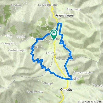 """Tour Montaña """"Zuleta"""" Día 1"""