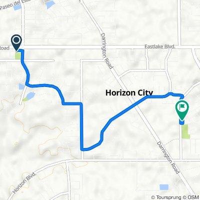 13034 Eastlake Blvd, Horizon City to 313 Peter Noyes Dr, Horizon City