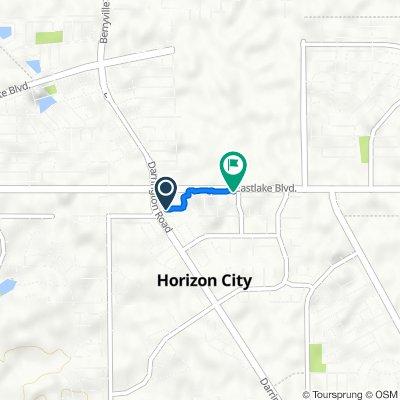 13816 Hollywood Dr, Horizon City to 497 Benton St, Horizon City