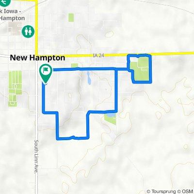 South Walnut Avenue 238, New Hampton to South Walnut Avenue 234, New Hampton