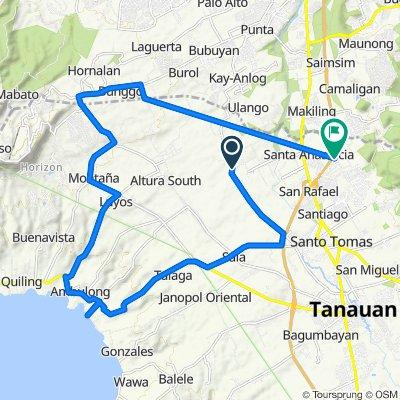 Tanauan Alternate Road 319 to Unnamed Road, Santo Tomas