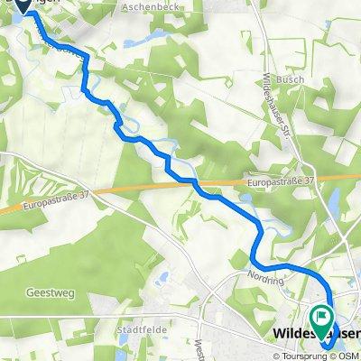 Fritz-Kortner-Weg 4, Dötlingen nach Burgstraße 4, Wildeshausen