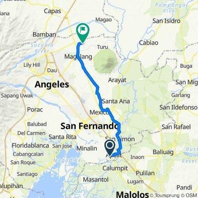 Sampaga 524, Apalit to Unnamed Road, Magalang