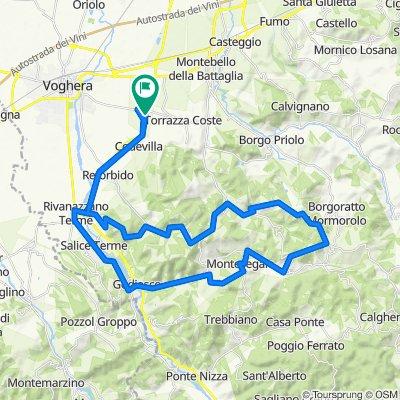 Codevilla - Fortunago - Montesegale