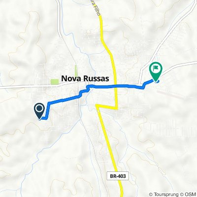 De Rua João Evangelista 844-896 a Avenida Joaquim Lopes Pedrosa 3600