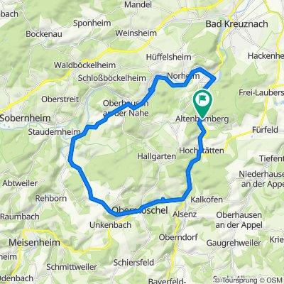 Altenbamberg, Obermoschel, Lettweiler, Odernheim, Niederhausen, BME, Altenbamberg