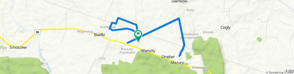 Ogrodowa 11, Ostrów Wielkopolski do Ogrodowa 11, Ostrów Wielkopolski