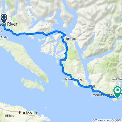 6807 Wharf St, Powell River to 317 Gower Point Rd, Gibsons