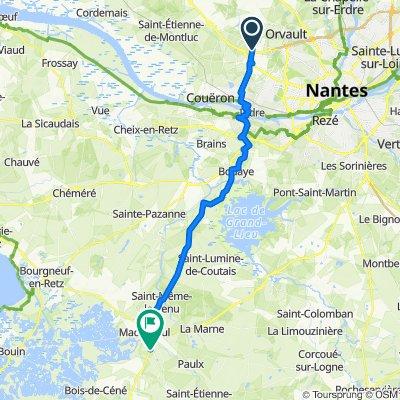 De 6 Rue des Noues, Sautron à 2–16 Le Petit-bois, Machecoul