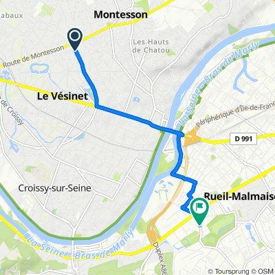 De 67Bis–77 Boulevard des États-Unis, Le Vésinet à 7 Avenue du Château de la Malmaison, Rueil-Malmaison
