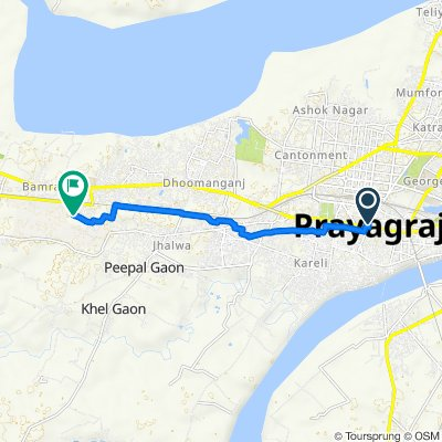 SOTR - Day 22 - Prayagraj - Mohammadpur Umri
