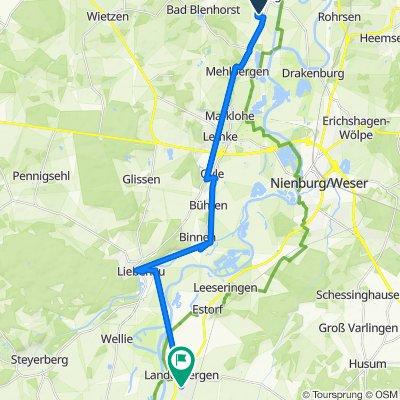 Im Dorfe 8, Balge nach Lerchenweg 4A, Landesbergen