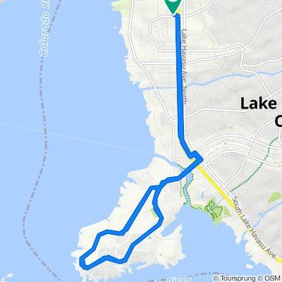 1791 Kiowa Ave, Lake Havasu City to 1791 Kiowa Ave, Lake Havasu City