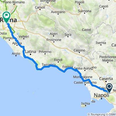 Percorso da Via Fratelli Bandiera 53, Pomigliano d'Arco