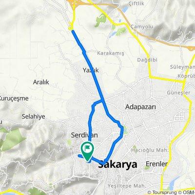 146. Sk., Serdivan to 146. Sk., Serdivan