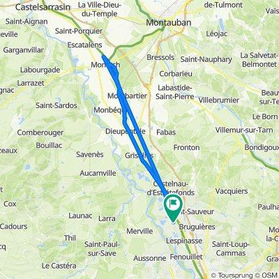 De 2 Impasse de la Violette, Saint-Jory à 2 Impasse de la Violette, Saint-Jory