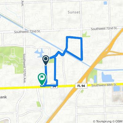 8117–8199 SW 103rd Ave, Miami to 10353 SW 88th St, Miami