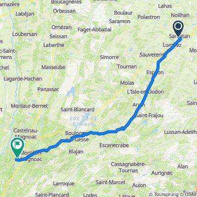 12. Tour: Samatan-Gaucous