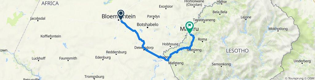 Golden Leopard Race -Stage 5