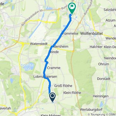 Ohlendorf direkte Rückfahrt