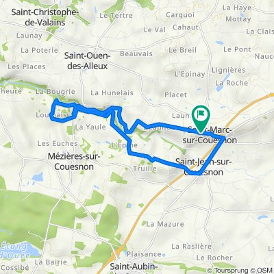 18.5 kms Couesnon