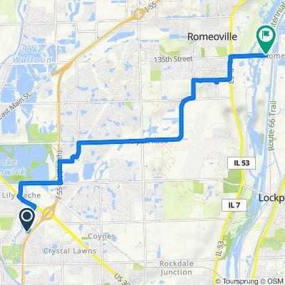16785 Hazelwood Dr, Plainfield to Centennial Trail, Romeoville