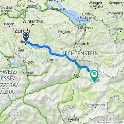 General-Wille-Strasse 61, Meilen nach Talstrasse 4, Davos Platz