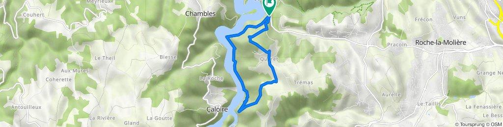 De Chemin de Quéret 48, Saint-Étienne à Chemin de Quéret 48, Saint-Étienne