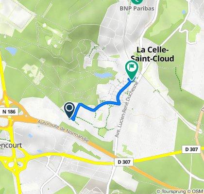 De 1–5 Allée de Guenifey, La Celle-Saint-Cloud à 1 Avenue des Sources, La Celle-Saint-Cloud