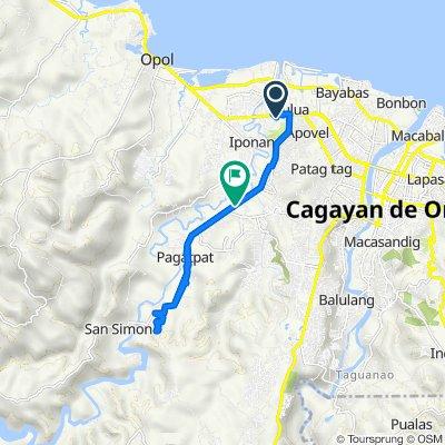 Unnamed Road, Cagayan de Oro to Macapagal Drive, Cagayan de Oro