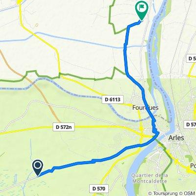 De 3384 Chemin de Palun Longue, Arles à 210–394 Chemin de Saujan, Beaucaire