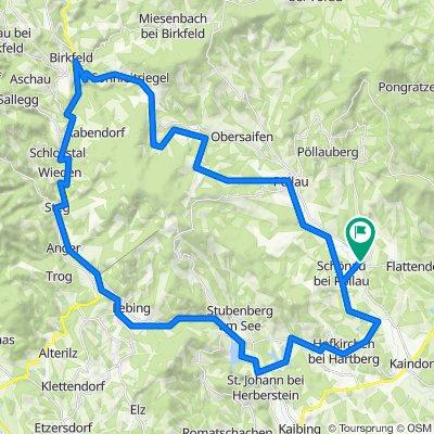 Winzendorf rund um Rabenwaldkogel und Buchkogel