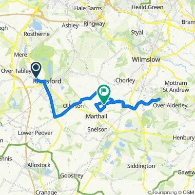 4 Freshfields, Knutsford to 1 Sandlebridge Rise, Alderley Edge
